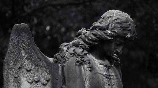 Darmstadt - Alter Friedhof - Statue #2